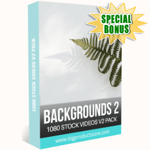 Special Bonuses - September 2019 - Backgrounds 2 - 1080 Stock Videos V2 Pack