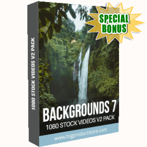 Special Bonuses - September 2019 - Backgrounds 7 - 1080 Stock Videos V2 Pack