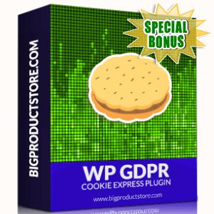 Special Bonuses - October 2019 - WP GDPR Cookie Express Plugin