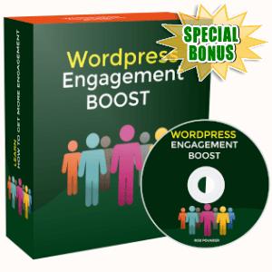 Special Bonuses - November 2019 - WordPress Engagement Boost Video Series Pack