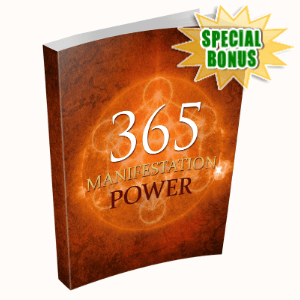 Special Bonuses - December 2019 - 365 Manifestation Power Pack