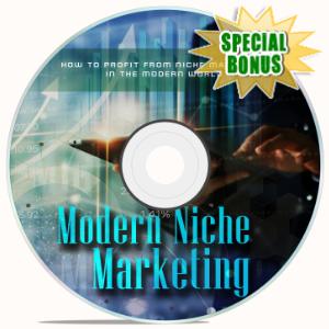 Special Bonuses - February 2020 - Modern Niche Marketing Video Upgrade Pack