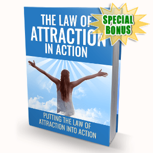Special Bonuses - February 2020 - The Law Of Attraction In Action Pack