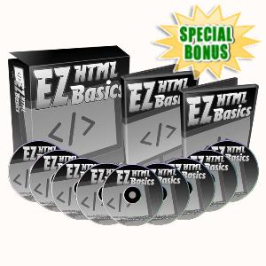 Special Bonuses - February 2020 - EZHTML Basics Video Series Pack