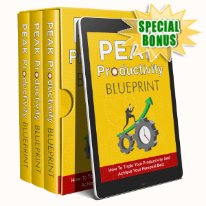 Special Bonuses - March 2020 - Peak Productivity Footprint Video Upgrade Pack