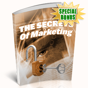 Special Bonuses - April 2020 - The Secrets Of Marketing