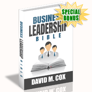 Special Bonuses - June 2020 - Business Leadership Bible