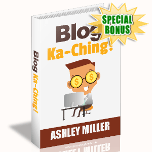 Special Bonuses - June 2020 - Blog Ka-Ching