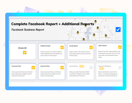 LeadsGorilla Features - Generate the Most Advanced Facebook Reports