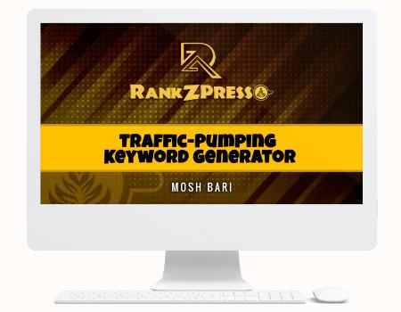 RankZPresso Features - Module #4 - Traffic-Pumping Keyword Generator