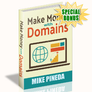 Special Bonuses - August 2020 - Make Money With Domains