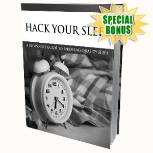 Special Bonuses - September 2020 - Hack Your Sleep