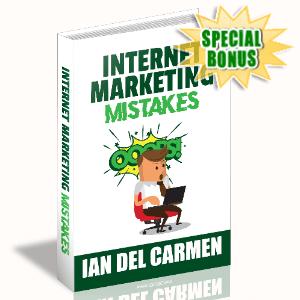 Special Bonuses - September 2020 - Internet Marketing Mistakes