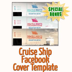 Special Bonuses - September 2020 - Cruise Ship Facebook Cover Template