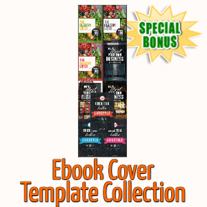 Special Bonuses - September 2020 - Ebook Cover Template Collection