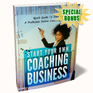 Special Bonuses - September 2020 - Start Your Own Coaching Business Pack
