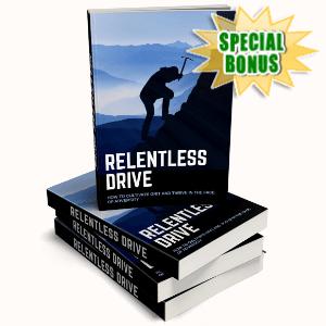 Special Bonuses - September 2020 - Relentless Drive Pack