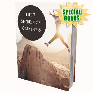 Special Bonuses - September 2020 - The 7 Secrets Of Greatness