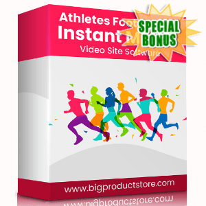 Special Bonuses - October 2020 - Athletes Foot Instant Mobile Video Site Software