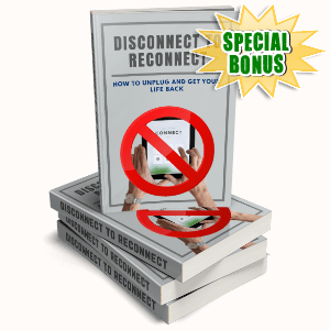 Special Bonuses - October 2020 - Disconnect To Reconnect Pack