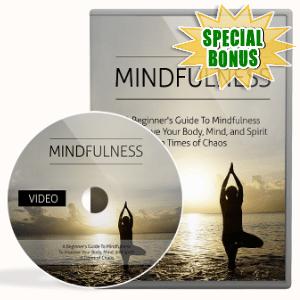 Special Bonuses - November 2020 - Mindfulness Video Upgrade Pack