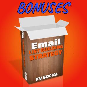 Spyvio Bonuses  - Email List Building Strategy