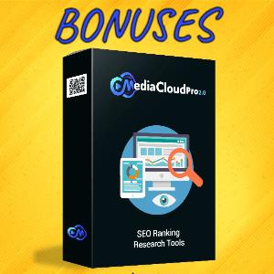 MediaCloudPro V2 Bonuses  - SEO Ranking Research Tools
