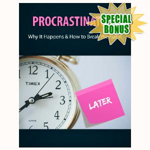 Special Bonuses - January 2021 - Procrastination