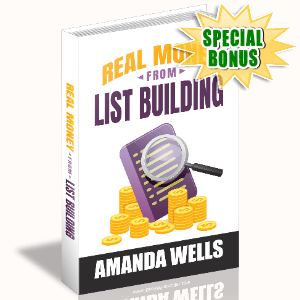 Special Bonuses #24 - January 2021 - Real Money From List Building