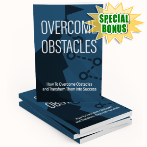 Special Bonuses #21 - February 2021 - Overcome Obstacles Pack