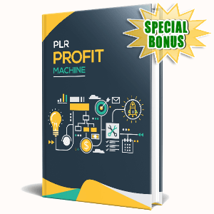 Special Bonuses #29 - February 2021 - PLR Profit Machine