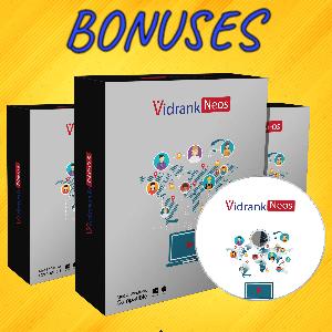 VideoReel Bonuses  - Resellers Rights to VidRankNeos