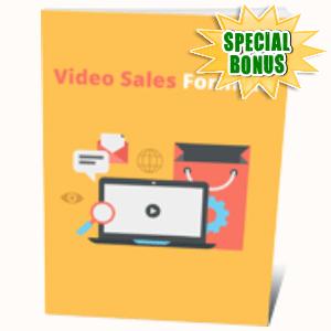 Special Bonuses #24 - August 2021 - Video Sales Formula Pack
