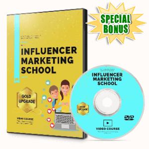 Special Bonuses #5 - October 2021 - Influencer Marketing School Video Upgrade Pack