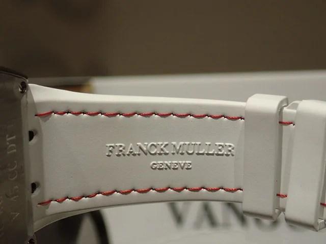 フランクミュラー クロノグラフ搭載のヴァンガードで腕元の存在感が一気にアップ! - FRANCK MULLER