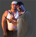 Two gang members
