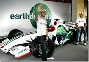 Button e Barrichello