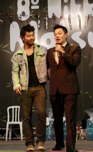 Joe Hirata (na foto acima) e Daniel Uemura participaram do júri do concurso