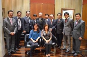 Consul e parlamentares