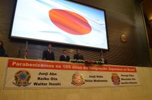 Sessão solene na ALESP