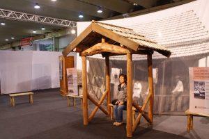 Exposição sobre a moradia dos imigrantes japoneses: comemoração aos 105 anos da Imigração.