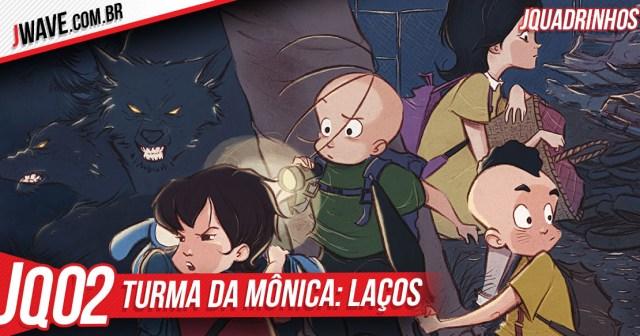JWave Quadrinhos Turma da Monica Post