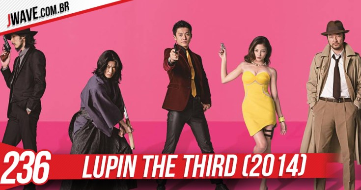 JWave Capa Lupin the third Post