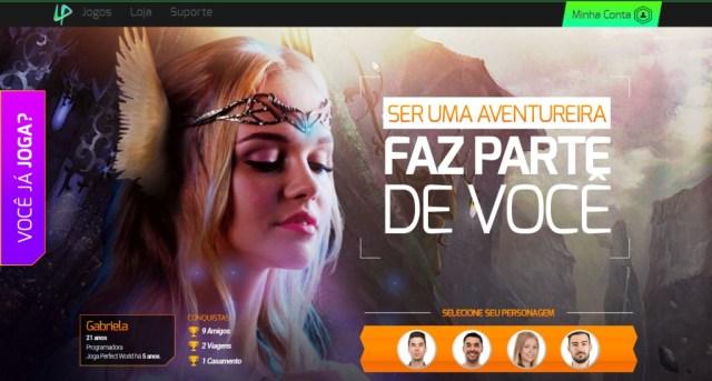 Jogadora Gabriela - Perfect World