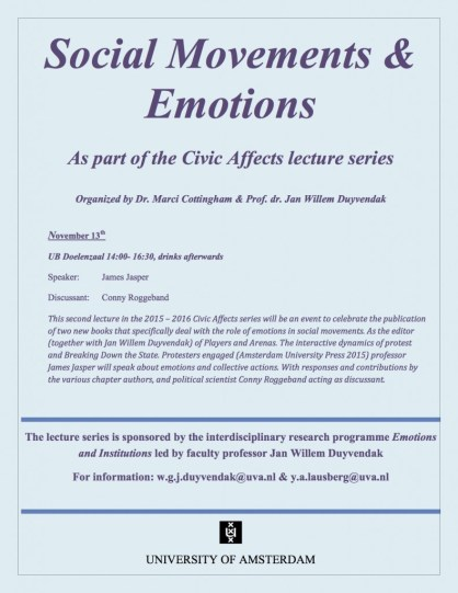 Affiche social movements and emotions pdf