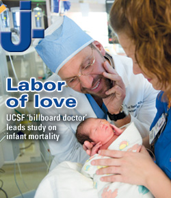 Labor of love: UCSFs billboard doctor leads study on infant
