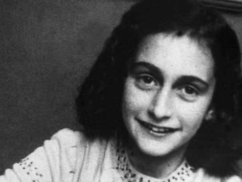 portrait of anne frank