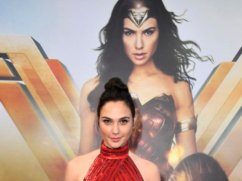 "Gal Gadot at the premiere of ""Wonder Woman,"" May 25, 2017 (Photo/JTA-Frazer Harrison-Getty Images)"