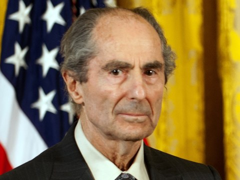 Philip Roth at the National Humanities Medal ceremony at the White House, March 2, 2011. (Photo/JTA-Jim Watson-AFP-Getty Images)