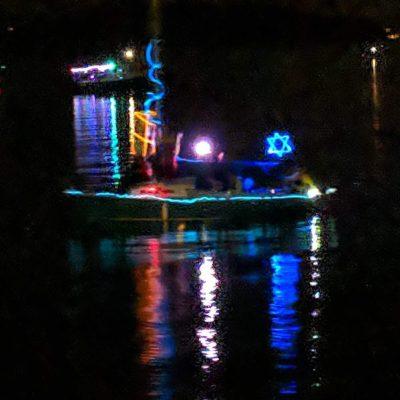 Joel Gussman's Hanukkah Boat